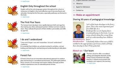 Ioanid Preschool International Education - Homepage