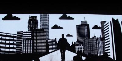 O lingurita din magia video-mapping-ului, de la Mindscape Studio