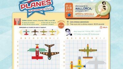 Paravion - Planes (aplicatie Facebook)