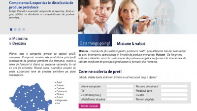 Planoil - Homepage