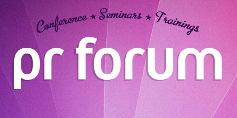 PR Forum - in martie, la Bucuresti