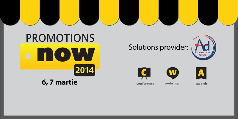 Promotions Now 2014: solutii si dezbateri cu sociologi, marketeri si publicitari