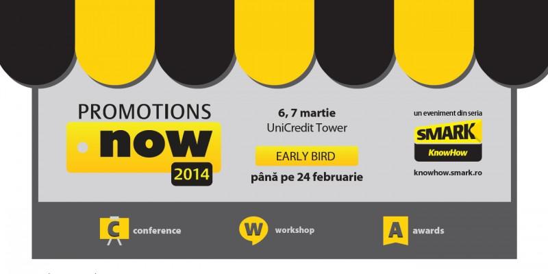 2 zile de know-how si solutii pentru promotii, la Promotions Now 2014: conferinta, workshop si premii