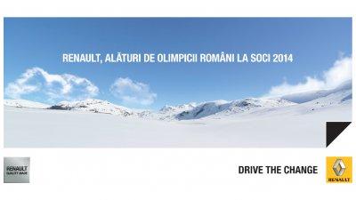 Renault - Alaturi de olimpicii romani la Soci 2014