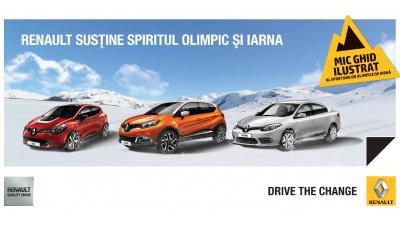 Renault - Sustine spiritul olimpic si iarna