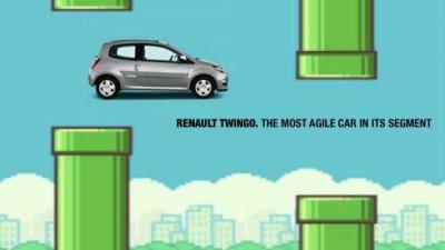 Renault Twingo - Flappy Bird