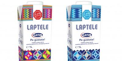 Funvertising a realizat design-ul de ambalaj pentru noul lapte din portofoliul Lactag