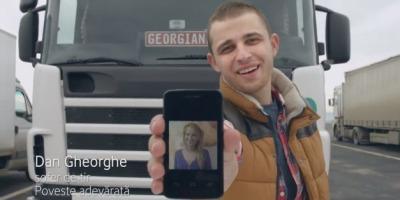 Dan Gheorghe Soferul - noul roman Vodafone cu initiativa