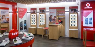 Vodafone extinde reteaua de magazine in franciza la nivel national