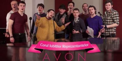 Iubitii reprezentantelor AVON si-au facut cor, intr-o campanie semnata Gavrila&Asociatii