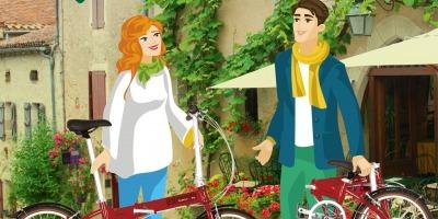 Clientii care aplica pentru Garanti Bonus Card pot castiga una dintre cele opt biciclete Dahon