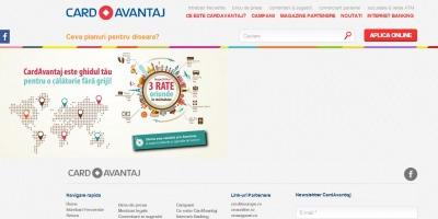 Noul site Credit Europe Bank CardAvantaj, semnat de Wizart Studios