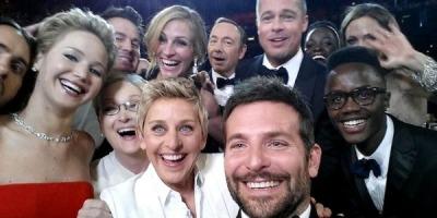 Un selfie cu 2,5 milioane de retweet-uri sau cum a sponsorizat Samsung Oscarurile