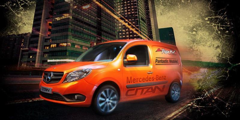 Pantastic Mobile – rezultatul unui parteneriat intre Mercedes-Benz si Pizza Hut Delivery, coordonat de GolinHarris