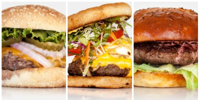 Viata de designer ca un platouas cu burgeri