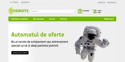 Grapefruit semneaza noul design al website-ului Cosmote