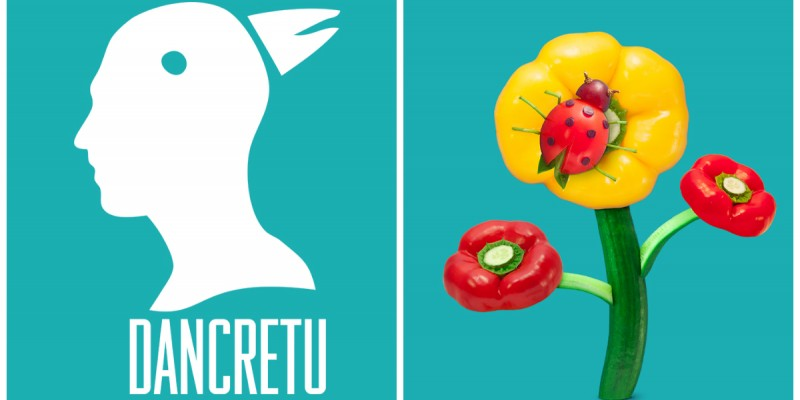 Dan Cretu transforma legumele in arta pentru Pizza Hut UK