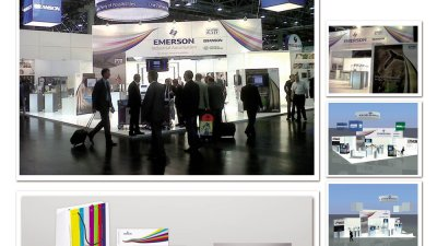 Emerson - stand expozitional