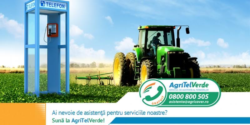 Agricover a lansat AgriTelVerde, serviciul de Asistenta Clienti semnat de ATELIER SAPTE
