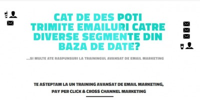 Strategii avansate de promovare prin e-mail marketing si Pay per Click - 2 zile de training intensiv la Evolution Marketing Academy