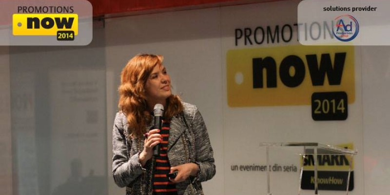 Tactici de integrare a promotiei in strategia de brand, prezentate la Promotions Now 2014