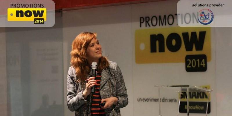 Tactici de integrare a promotiei in strategia de brand, prezentate la Promotions Now 2014