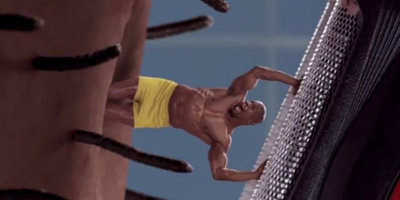 Terry Crews e un fir de par pe propriul obraz, in noul spot Old Spice
