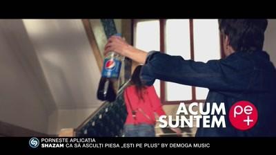 Pepsi - Gasca Pepsi Shazam: Esti pe plus cu 1.75 l