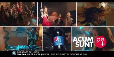 """Pepsi integreaza Shazam in campania """"Acum sunt pe +"""""""