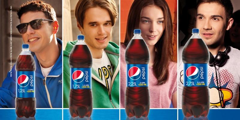 """Pepsi trece """"pe+"""" cu o noua gama de ambalaje si o noua campanie de comunicare"""