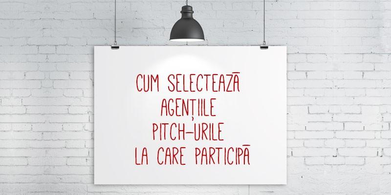 [In pitch] Serban Alexandrescu: Nu mergem la pitch-uri in care clientul refuza sa dezvaluie restul agentiilor invitate