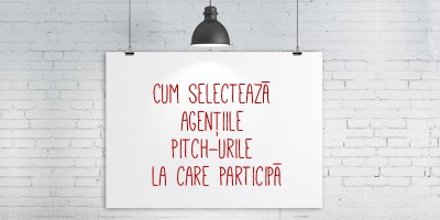 """[In pitch] Irinel Ionescu (AMPRO Design): Daca primim un brief """"cu de toate"""", cel mai probabil nu participam in pitch"""