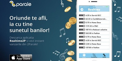 2Parale lanseaza Realtime2P, o aplicatie mobila de marketing afiliat