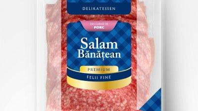 Reinert - Salam banatean (packaging)