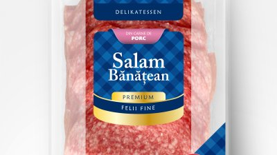 Reinert - Salam banatean (packaging)