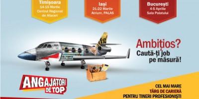 Cea de-a 16-a editie a Angajatori de TOP Bucuresti va avea loc la inceputul lui aprilie