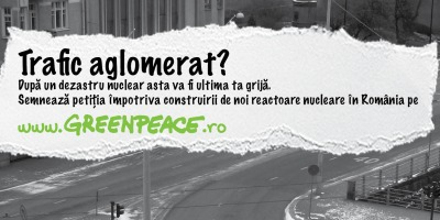 Springer & Jacoby Romania semneaza cea mai recenta campanie de comunicare Greenpeace