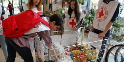 Crucea Rosie Romana si Mega Image au sarbatorit Ziua Bancii de Alimente