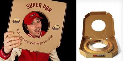 Pizza fara pizza - activare speciala in cadrul noii campanii pentru blatul Super Pan de la Pizza Hut