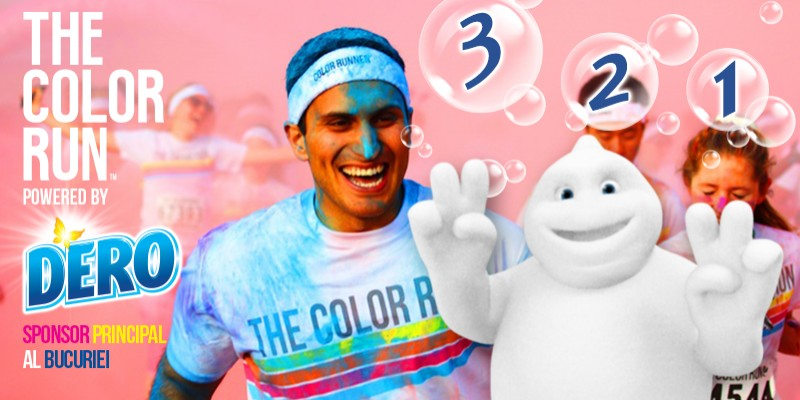 DERO - Sponsorul oficial al The Color Run Romania