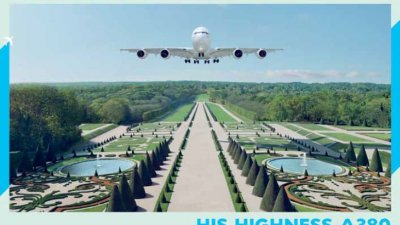 Air France - His Highness A380
