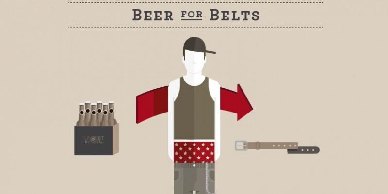Bea o bere, trage-ti pantalonii, salveaza economia