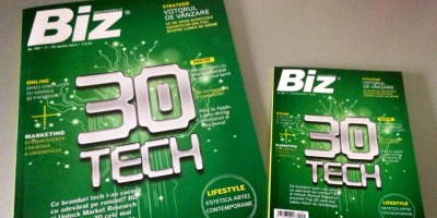 GMP creeaza o copie de rezerva a revistei Biz pentru a promova solutiile Cloud de la Romtelecom