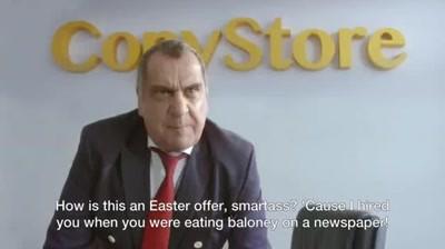 Carrefour vs CopyStore - Preturile mici de la Carrefour starnesc invidia si de Paste