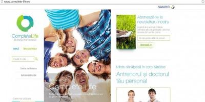 Sanofi lanseaza Complete Life, un portal cu informatii specializate despre diabet