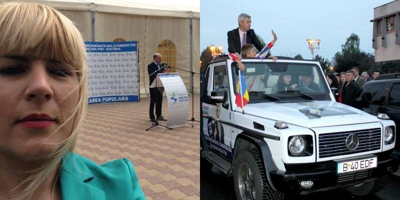Campaniile pentru europarlamentare, de la selfieul Elenei Udrea la DD Mobilul lui Dan Diaconescu