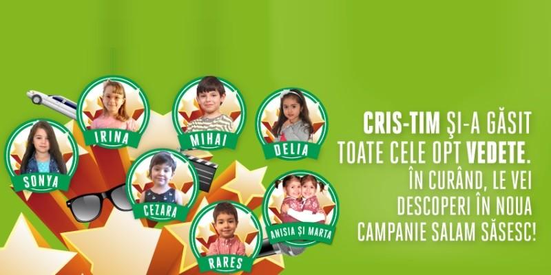 600 de copii inscrisi in competitia pentru viitorul superstar Cris-Tim