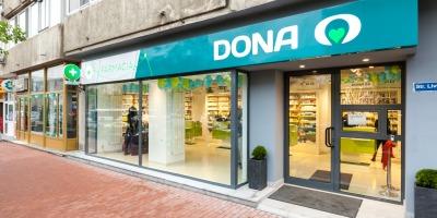 Reteaua de farmacii DONA demareaza un proces complex de rebranding