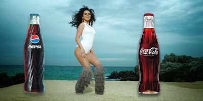 Inna, intre Pepsi si Coca-Cola (shake, shake, shake)