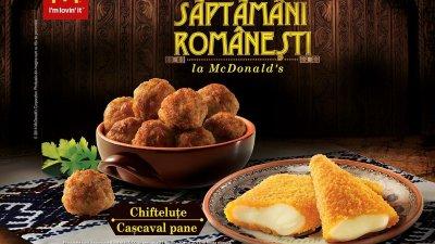 McDonald's - Chiftele si cascaval pane